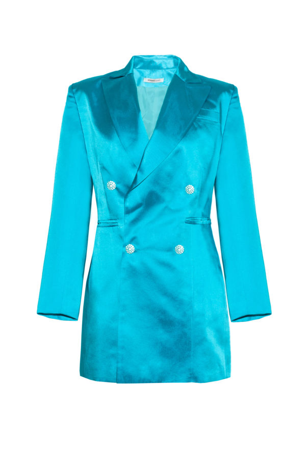Chaqueta vestido azul The Tuxedo blue blazer smoking