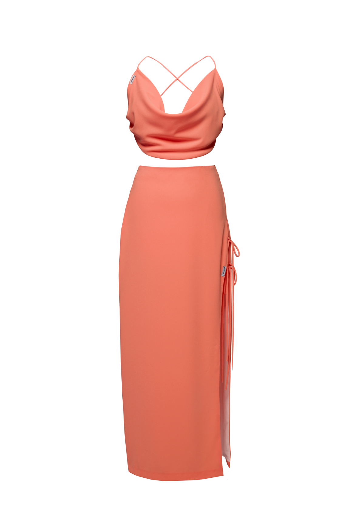 womace-lemon-crop-top-long-skirt-combo-dress-party-coral