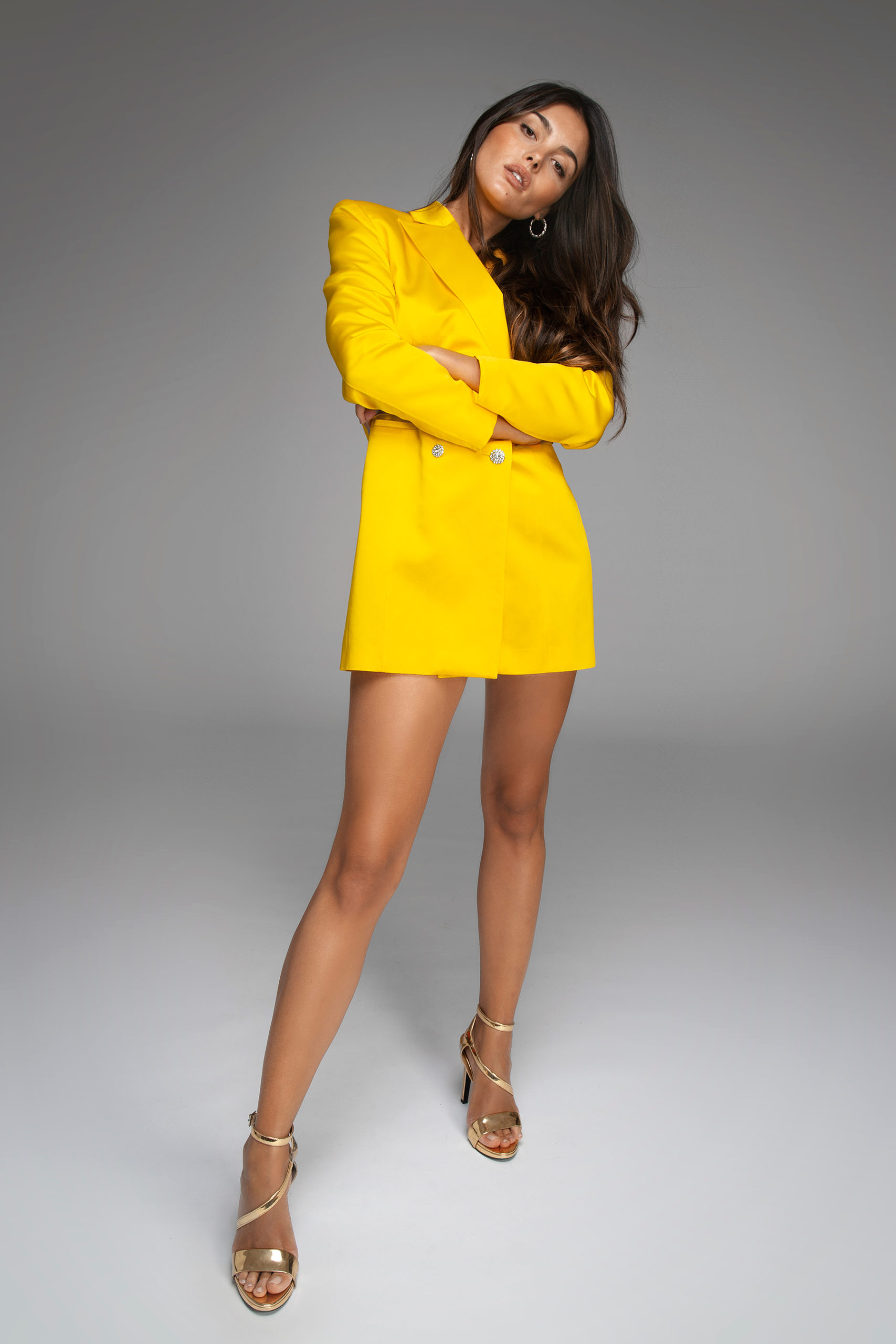 womance-tuxedo-smokin-chaqueta-seda-mini-dress-yellow-hq-5