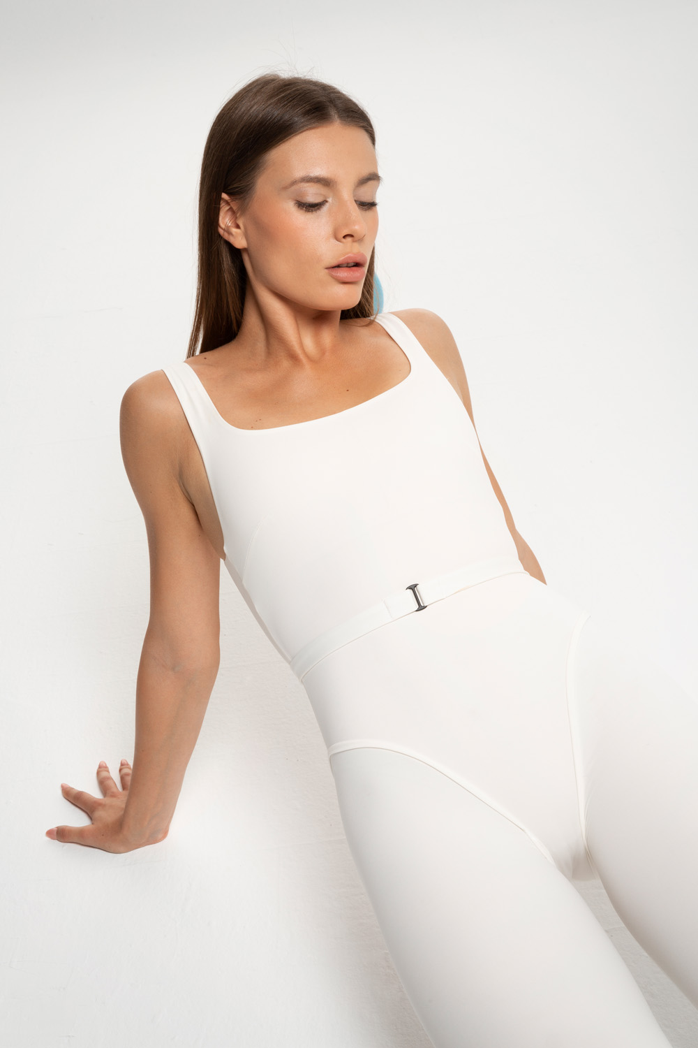 ONEPIECE YOGA WOMANCE WHITE
